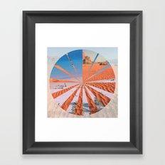 Wadi Rum vs. Tenerife Framed Art Print
