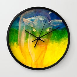 Gone Too Soon: Spirit of the Cow Wall Clock