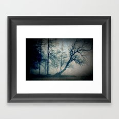 The fog Framed Art Print
