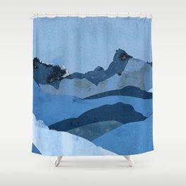 Mountain X Shower Curtain