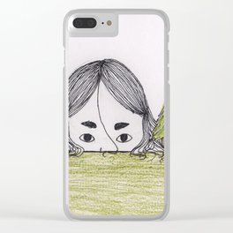 Lady of the Earth Clear iPhone Case