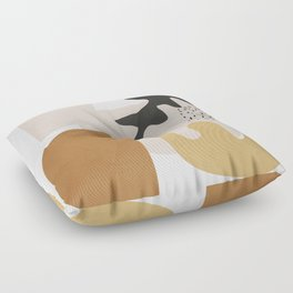 Abstract Shapes  2 Floor Pillow