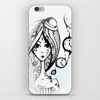 watch iPhone & iPod Skins featuring watch by DanilaTrubarova