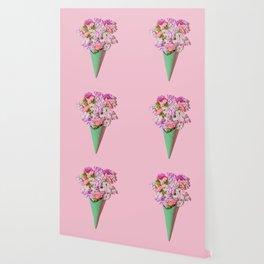 Flower Flurry I Wallpaper