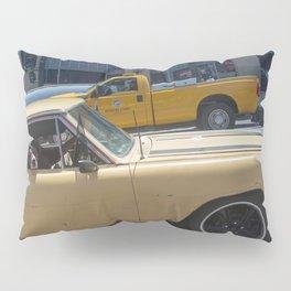 Dog in a car Pillow Sham
