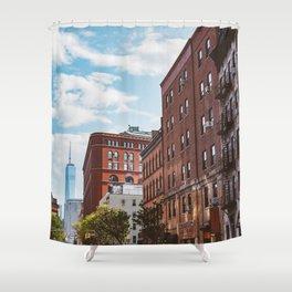 Downtown New York II Shower Curtain