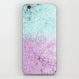 Mermaid Lady Glitter #2 #decor #art #society6 iPhone Skin