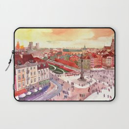 Evening in Warsaw Laptop Sleeve