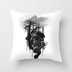 DIRTY WEATHER Throw Pillow