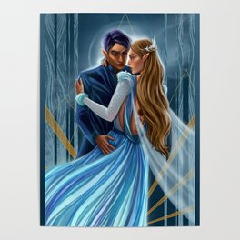 Starlight Feyre and Rhys Poster
