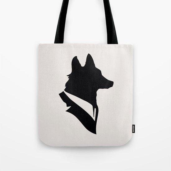 Monsieur Renard / Mr Fox - Animal Silhouette Tote Bag