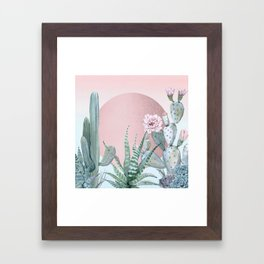 Desert Sunset by Nature Magick Framed Art Print