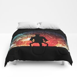 Illusive man ( Mass Effect ) Comforters