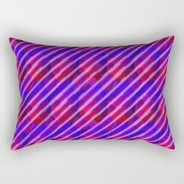 When the Deep Purple Falls Rectangular Pillow
