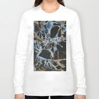insect Long Sleeve T-shirts featuring Insect Graveyard by Rachel Hoffman