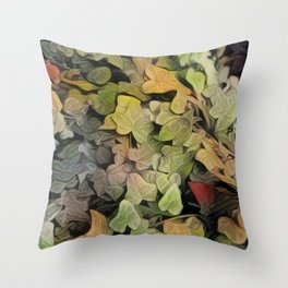 Inspired Layers Throw Pillow