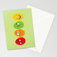 Funny Easter eggs Stationery Cards