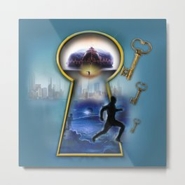 Operation Self Transformation  Metal Print