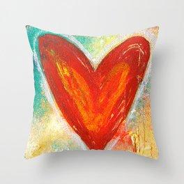 Deep in Love Throw Pillow