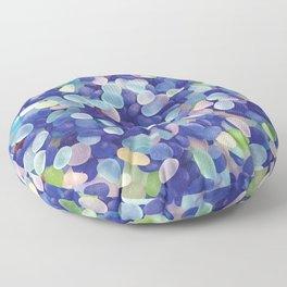 Sea Glass Extravaganza Floor Pillow