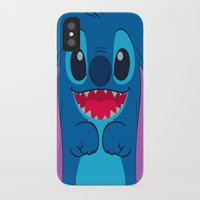 stitch iPhone & iPod Cases featuring stitch by customgift