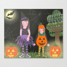 Halloween. Canvas Print