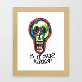 Skull 1 Framed Art Print