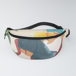 On the pages of a book Fanny Pack