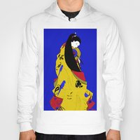 woman Hoodies featuring Woman  by Saundra Myles