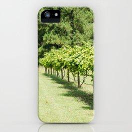 Grape vine 3 iPhone Case