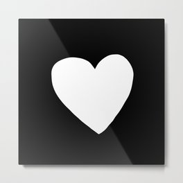 Big Heart Metal Print