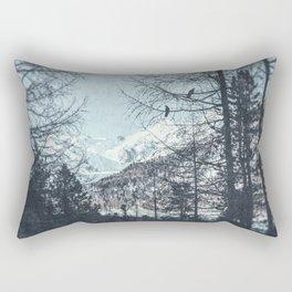 distant mountains Rectangular Pillow