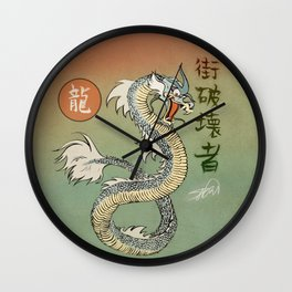 Ancient City Destroyer Wall Clock