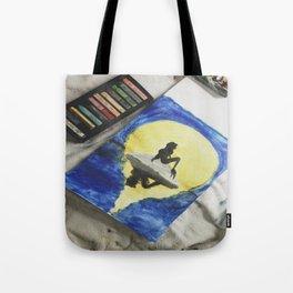 Ariel Pastel Tote Bag
