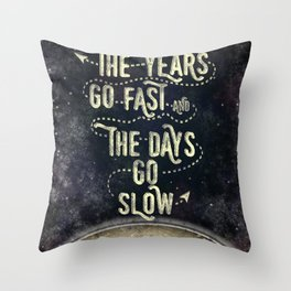 Getting Old Throw Pillow