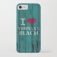 grand theft auto iPhone & iPod Cases featuring Los Santos I love Vespucci Beach Grand Theft Auto by KeenaKorn