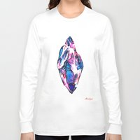 mineral Long Sleeve T-shirts featuring Mineral by arnedayan