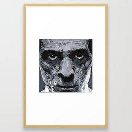 KARLOFF Framed Art Print