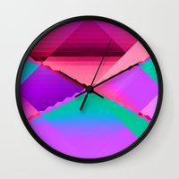 computer Wall Clocks featuring Computer Dreams by Blank & Vøid