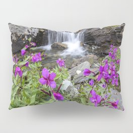 Secluded Waterfall Pillow Sham