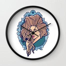 Venus, Seashell Girl Wall Clock