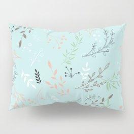 Light And Lovely Spring Floral Garden Pattern Pillow Sham