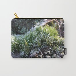 Frosted moss Carry-All Pouch