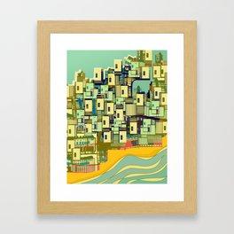 Mediterranean Coast Framed Art Print