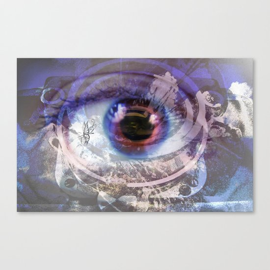 Looking through the lens  Canvas Print