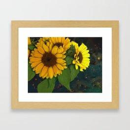 The Sunflowers Framed Art Print