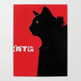 Catzilla Poster