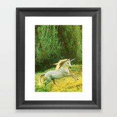 Horsey Business. Framed Art Print