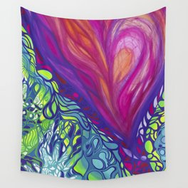Soulful colors Wall Tapestry