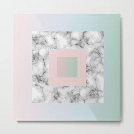 Marble Block Metal Print